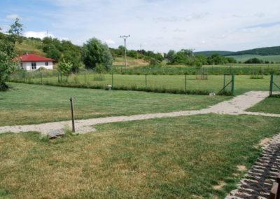 Zahrada, venkovní výběhy
