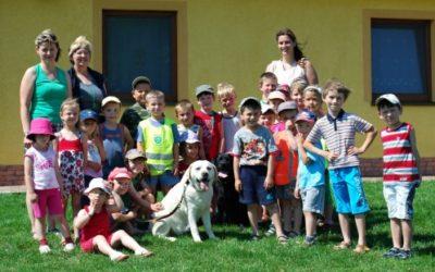 Návštěva dětí z MŠ v naší CHS